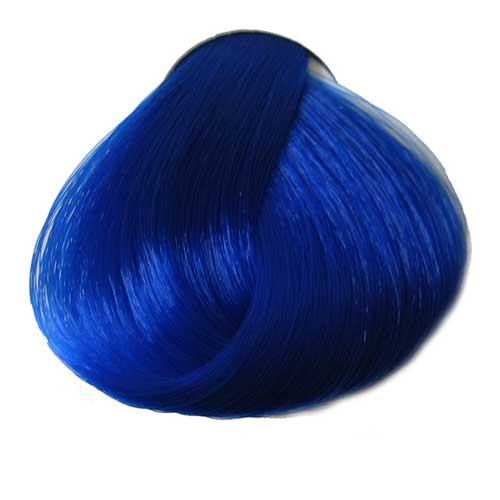Buy Crazy Color Hair Dye Online Bright Hair Dye UK Hair Extensions - Hair colour in blue