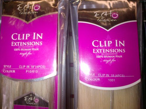 echo clip in hair extensions