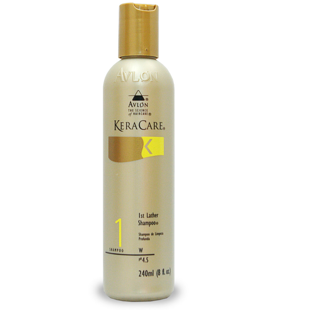 Keracare first lather shampoo for swimmers hair salon for Salon shampoo